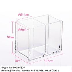 Clear Plastic Acrylic Cosmetics Brush Pot Wholesale