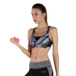 2020 New Model Woman Fitness Yoga Wear Custom Print Athletic Wear Fitness Sports Bra Fitness Wear