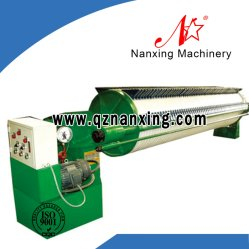 Round Filter Plate Hydraulic Chamber Filter Press Manufacturer