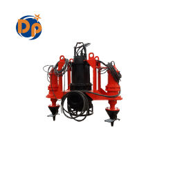 Hydraulic Submersible Suction Slurry Pump for Excavator, Vertical Slurry Pump