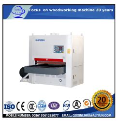 Wood Sanding Woodworking Machine/ Wide Belt 3m Lacquer Sander Machine Sanding up and Down
