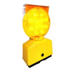 Best Sell Waterproof Slar LED Yellow Road Safety Warning Lamp