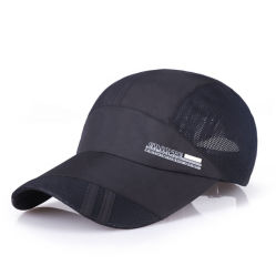 Custom Quick Dry Cap Adjustable Mesh Baseball Caps for Running Hiking Sport Cap