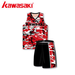 Sports Wear Sublimation Shirt Clothes Design Red Design Color Sportswear Basketball Uniform Clothing