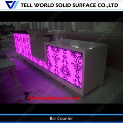 Tw Home Bar Furniture LED Wine Mini Bar Counter
