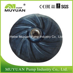Centrifugal Slurry Pump Open Rubber Impeller