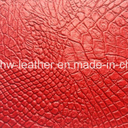 Hot Sale Vinyl PVC Leather Fabric For Sofa Chair Upholstery (HW 243)