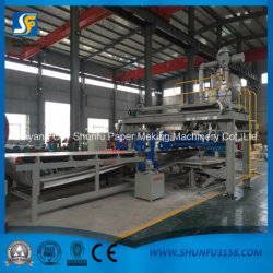 Corrugated Paper Board Processing Making Machine with Standard Paper