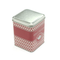 Rectanglar Packaging Coffee Tin Can with PVC Window