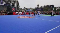 Multi-Functional Resilient Plastic Sports Flooring