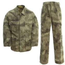 Fabric Rip Stop Custom Camouflage Military Uniforms