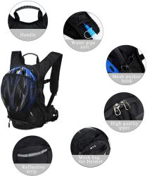 15L Cycling Backpack Biking Outdoor Daypack Sports Running Breathable Hydration Pack Bag for Men Women
