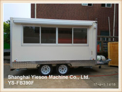 Ys-Fb390f 3.9m White Food Truck Mobile Food Trailer Ice Cream Van