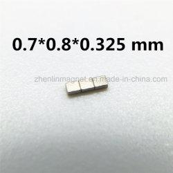 Micro SmCo Magnet Block 0.7*0.8*0.325 mm High Grade