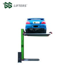 GG Brand Two Levels Single Column Car Elevator Park System