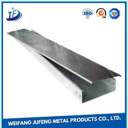 OEM Carbon Steel Sheet Metal Stamping Cable Bridge for Power Cable
