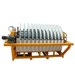 Hot Sale Mineral Slurry Ceramic Dewatering Disc Filter for Ore