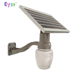 Wholesale Price Outdoor Solar Light IP65 6W/9W Three Kinds of Lamp Shade Solar Panel LED Wall Light for Garden Lighting