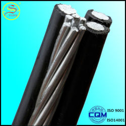 Aluminum, ACSR, AAC Conductor XLPE PVC Overhead Aerial Bundled Cable