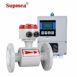 Industrial Magnetic Water Flowmeter Converter Integrated Type Electromagnetic Acid Flowmeter Irrigation