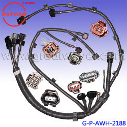 china wiring harness, wiring harness manufacturers, suppliers made obd0 to obd1 conversion harness genuine engine wire harness vh82121e0g40 excavator kobelco 20 ton wiring harness oem manufacturer