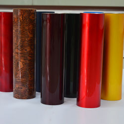 Wholesale Hard Glitter Plastic PVC Material for Drum Wrap