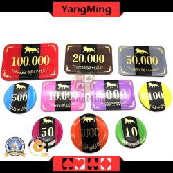 New Design/ RFID Casino Poker Chip Set / with Aluminum Chips Case RFID Gambling Games Chips