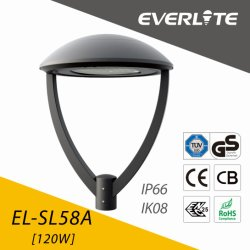 Everlite 120W LED Garden Lamp with ENEC CB Ce GS Class I & Class II