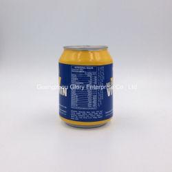 250ml Aluminum Tin Shiny Brand Sugarless Carbonated Energy Drink with Vitamin B12, B6. B5, B3b1 and Niacin