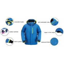 Winter Ski Clothes Snow Sports Windproof Jacket