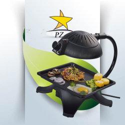 Popular Korean Table Electric Indoor Roaster with Infrared (ZJLY)