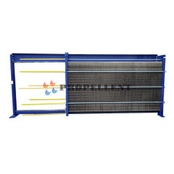 Stainless Steel Wide Channel Free Flow Plate Heat Exchanger