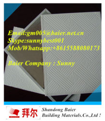 Pvc Gypsum Ceiling Tiles Board Price