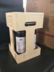 Wholesale Low Price China Custom Logo Solid Wood Wine Boxes