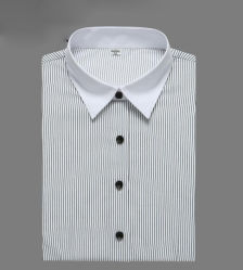 Business Formal Shirts Men Women Business Shirt Long Sleeve Slim Fit Dress