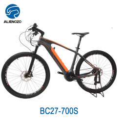 Electric Bicycle 36V 500W Carbon Road Disc Frame Flat Mount