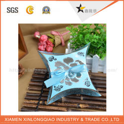 Customzied Luxury/Full Color/UV/Stamping/Shipping/Gift/Packaging/Craft/Kraft/Recycled/PVC Window/Display/ Pillow Box Scarf Packaging Box with Your Design