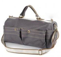 Leisure Canvas Sport Handbag and Traveling Shoulder Duffle Bag (RS-RT0048)
