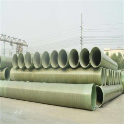 Dn10mm-4200mm Abrasion Resistant FRP GRP Pipe for Slurry Water