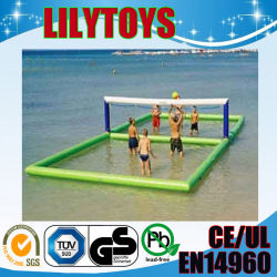 inflatable water sport games/inflatable water volleyball equipment