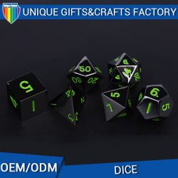Bulk Dice Wholesale/ 12 Sides Custom Metal Dice / Funny Game