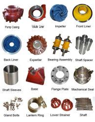 Slurry Pump Elastomer Spare Parts