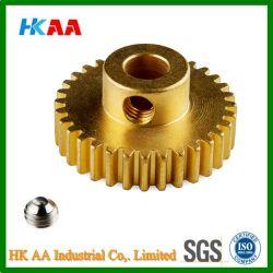 Ts16949 Standard Custom Design Brass Small Steering Rack Pinion Gear