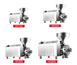 Commercial Restaurant and Hotel Use 3600W BV Certificate Stainless Steel Flour Mill Grinding Milling Machine