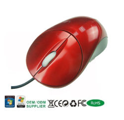 Red Hottest Optical Mouse