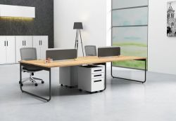 Reasonable Price Glass Computer Table with Durable Modeling
