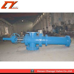 Multi-Function Long Rod Ceramic Discharging Gate Valve