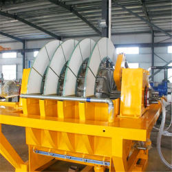 Ore Slurry Separation Ceramic Disc Vacuum Filter Alkaline Water Machine