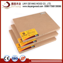 E1 High Quality MDF for Furniture Plywood