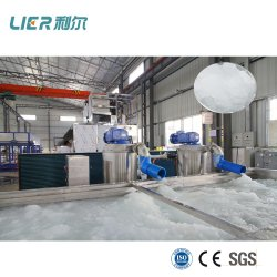 Quick Freezen Sea Water Slurry Ice Making Machines 10ton Ice Blusting Machine